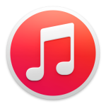 iTunes Red Icon
