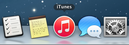 Red Icon in Dock